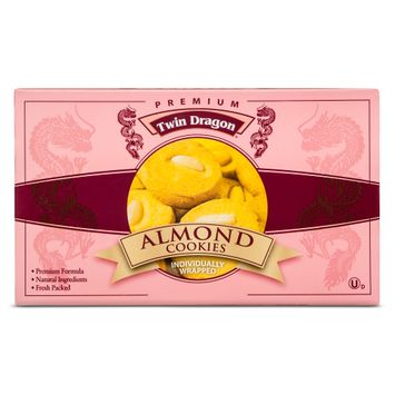 Twin Dragon Premium Almond Cookies