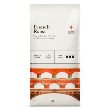 French Roast Ground Coffee 12oz - Archer Farms
