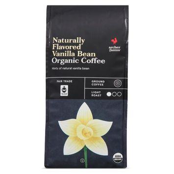 Naturally Flavored Vanilla Bean Organic Coffee - Archer Farms