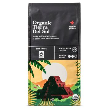 Organic Tierra Del Sol Whole Bean Coffee 10oz - Archer Farms