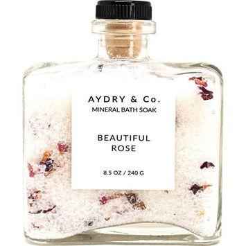 AYDRY & Co. Mineral Bath Soak   Beautiful Rose 8.5 oz