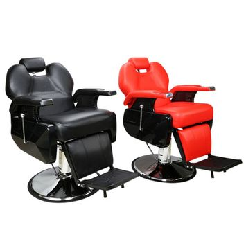 Zimtown Multifuctional Hydraulic Recline Barber Chair Hair Styling Salon SPA Shampoo