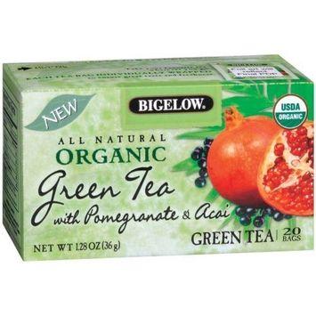 BIGELOW TEA GRN PMGRNT & ACAI, 20 BG