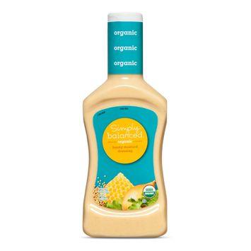 Organic Honey Mustard Salad Dressing 16 Fl oz - Simply Balanced