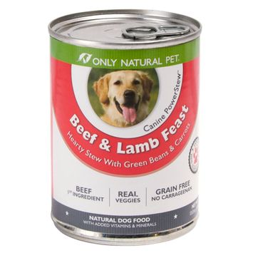 Only Natural Pet Beef & Lamb PowerStew 13oz Can