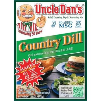 Uncle Dan's California Country Dill Dressing, Dip, & Seasoning Mix- Packet