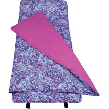 Wildkin Watercolor Ponies Purple Nap Mat