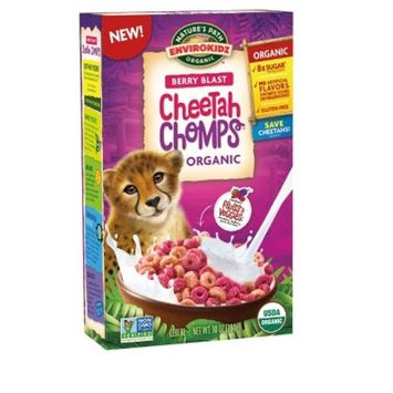 Nature's Path Envirokids Organic Cheetah Chomps Breakfast Cereal - 10oz