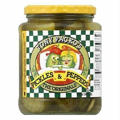 Tony Packo Pickles & Peppers Original - 24 oz (4 pack)