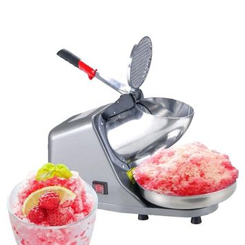 Ktaxon Electric Ice Crusher Shaver Machine Snow Cone Maker Shaved Ice 143lbs 200W