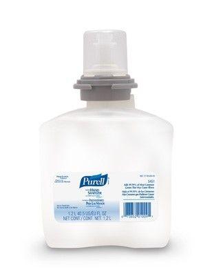 Purell Advanced Hand Sanitizer 1200 mL Alcohol (Ethyl) Gel Dispenser Refill Bottle, Case of 4, 4 Pack (16 Total)