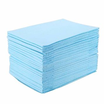 Lolicute 35PCS Adult Under Pad Medical Underpad Absorbency Disposable Quilted Fluff Underpad Adult Baby Nursing Bed Pad Adult Diaper 60×90cm