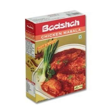 Badshah Masala, Chicken Masala Hot & Spicy, 3.5-ounce Box