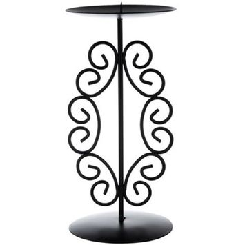 DDI 1996600 Pillar Metal Candle Holder44; Case 48
