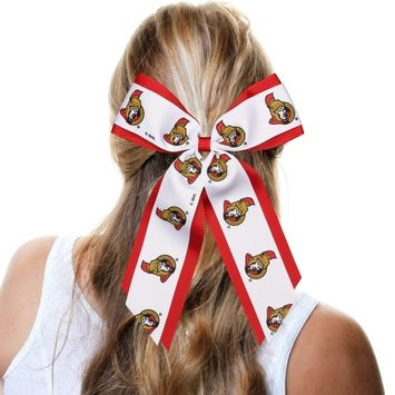 Ottawa Senators Jumbo Cheer Ponytail Holder - No Size