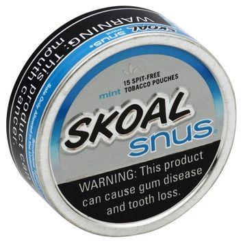 Skoal Snus Smokeless Mint
