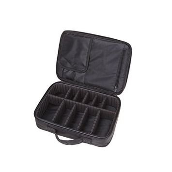 Creazy Cosmetic Beauty Queen Three Portable Professional Makeup Cosmetics Cases Toolbox