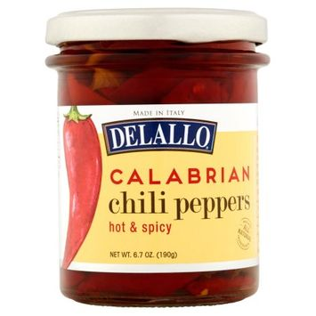 George Delallo Co., Inc. Delallo, Peppers Calabrian Chili, 6.7 Oz (Pack Of 6)