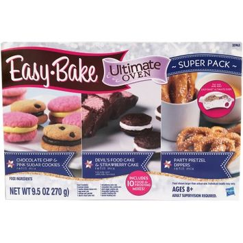 Easy Bake Oven Refill Mix Super Pack - 10 Mixes