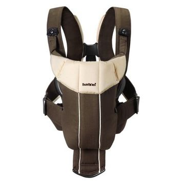 BABYBJORN Baby Carrier Active, Brown/Beige (Discontinued by Manufacturer)
