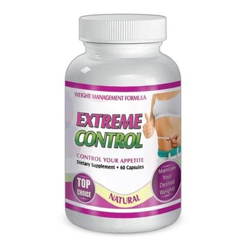Extreme Control Maximum Diet Formula Appetite Weight Loss Natural Pills 30 Day supply