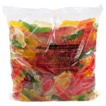 Albanese, Sugar-Free Assorted Flavors Gummi Fish, 4.5 Lb