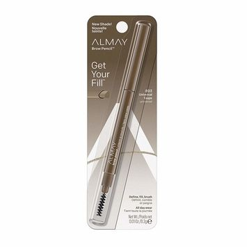 Almay Eyebrow Pencil, Universal Taupe, 1 count with eyebrow brush