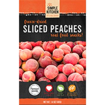 Simple Kitchen Freeze-dried Sliced Peaches