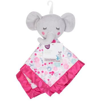Parent's Choice Baby Security Blanket Buddy, Bella Elephant