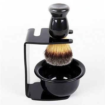 SPEQUIX Professional Men Shaving Set,Badger Hair Shaving Brush, Shaving Stand,Razor Stand Holder