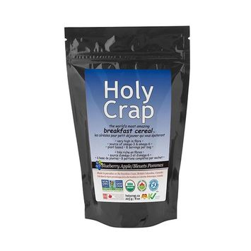 Holy Crap Blueberry Apple Breakfast Cereal