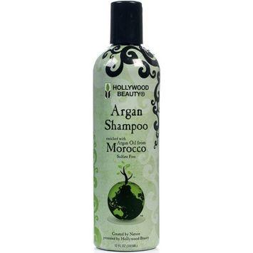 Hollywood Beauty Argan Oil Shampoo, 12 oz