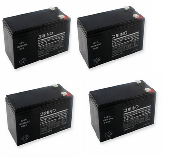 Electric Scooter Batteries (Includes 4 - 12V 9ah F2)