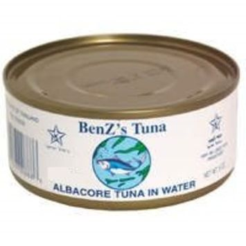 Benz's Chunk White Albacore Tuna in Water, 5 oz (Kosher for Passover all Year)