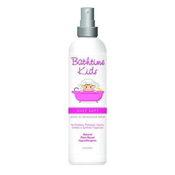 Bathtime Baby Silky Soft Leave-In Detangler Spray 8 oz by Bathtime Baby
