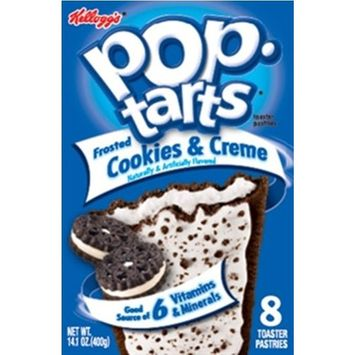 Kelloggs Pop Tarts Cookies and Cream 400g (Pack of 6)