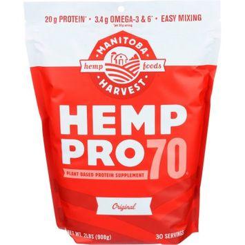 Manitoba Harvest Protein Powder Hemppro70, 32 OZ