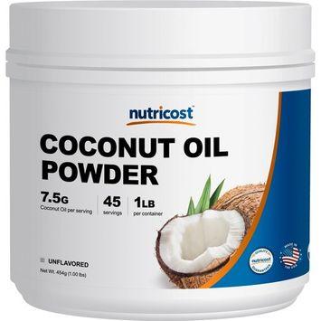 Nutricost Coconut Oil Powder 1 LB, 45 Servings - Non-GMO and Gluten-Free - Premium Quality Made in The USA …