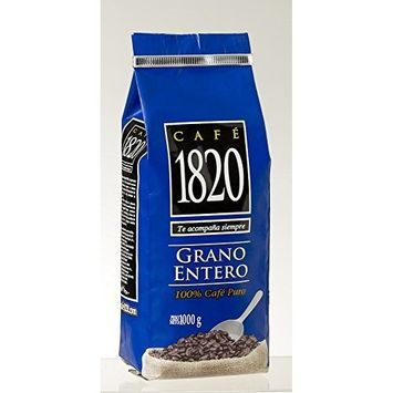 Cafe 1820 Coffee Whole Bean Kilo from Costa Rica [Bean]