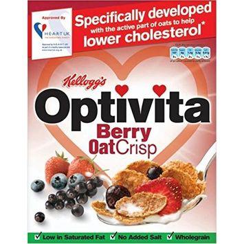 Kellogg's Optivita Berry Oat Crisp (375g)