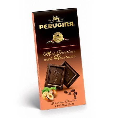 Perugina Milk Chocolate Bar W/Hazelnuts (12 Pack)