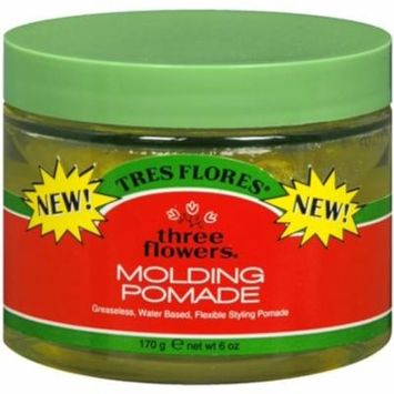 Three Flowers Molding Pomade 4 oz (Pack of 2)