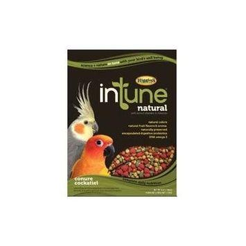 Higgins Intune Natural Conure & Cockatiel Bird Food, 18 Lb