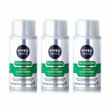 Norelco Shaving Conditioner Nivea For Men Compatible w/ 1150X Model (3-Pack)