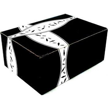 Ritter Sport Mini Chocolate Squares Bunte Vielfalt, 9 Piece Trays in a BlackTie Box (Pack of 2)
