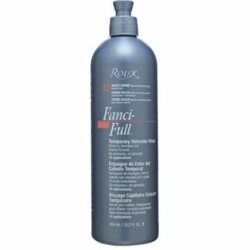 Roux Fanci-Full Temporary Color Rinse 19 Sweet Creme, 15.2 oz (Pack of 4)