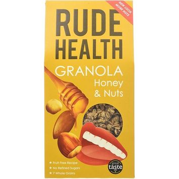 Rude Health - Granola - Honey & Nuts - 500g (Case of 5)