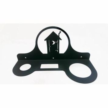 Village Wrought Iron HD-256 Outhouse - Hair Dryer Rack