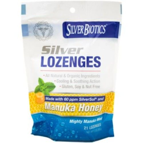 Silver Manuka Lozenges (21 Lozenges) by American BioTech Labs at the Vitamin Shoppe