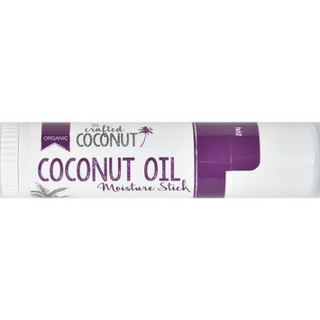 The Crafted Coconut - Organic Coconut Oil Moisture Stick | Perfect for on-the-GO